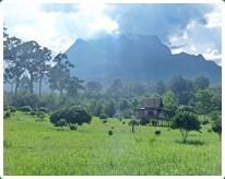 Chiang Dao Area, north of Chiang mai is mountainous